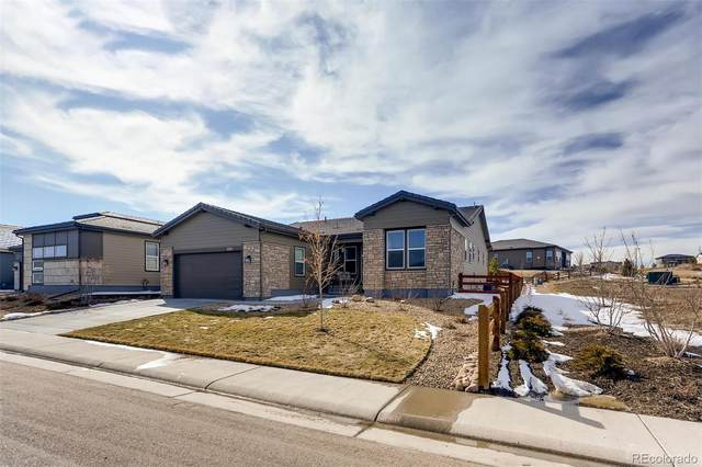11081 Sweet Cicely Lane, Parker, CO 80134 (#8455387) :: The HomeSmiths Team - Keller Williams