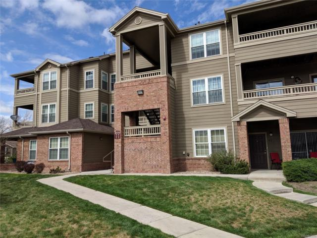 12764 Ironstone Way #104, Parker, CO 80134 (#8457220) :: The Galo Garrido Group