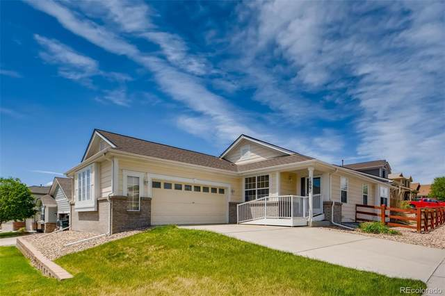 16091 E 104th Place, Commerce City, CO 80022 (#8463205) :: The Peak Properties Group
