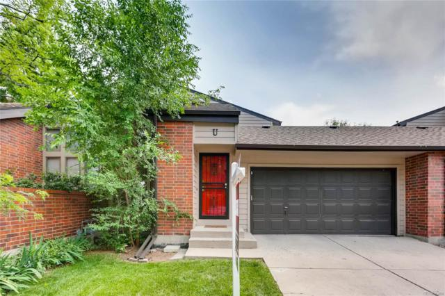 540 S Forest Street U, Denver, CO 80246 (#8464625) :: Sellstate Realty Pros