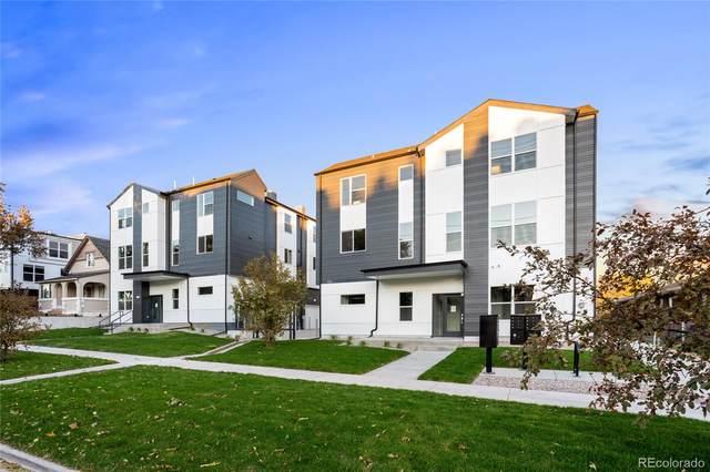 1810 N Irving Street #5, Denver, CO 80204 (#8468443) :: The HomeSmiths Team - Keller Williams