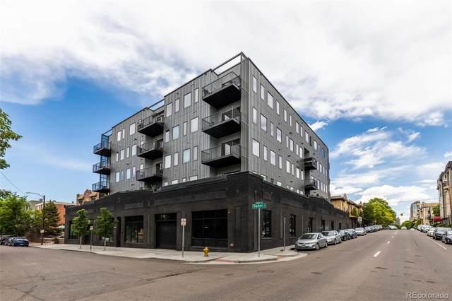 1300 N Ogden Street #401, Denver, CO 80218 (#8472209) :: HomeSmart