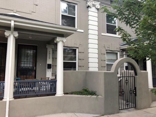 1912 E 16th Avenue, Denver, CO 80206 (#8472797) :: The Galo Garrido Group