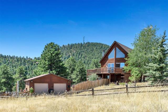 164 Conifer Drive, Bailey, CO 80421 (MLS #8473184) :: 8z Real Estate