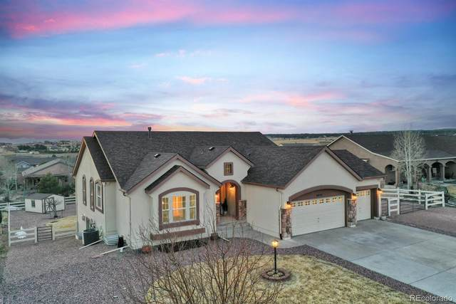 9810 Carrington Drive, Peyton, CO 80831 (MLS #8473526) :: The Sam Biller Home Team