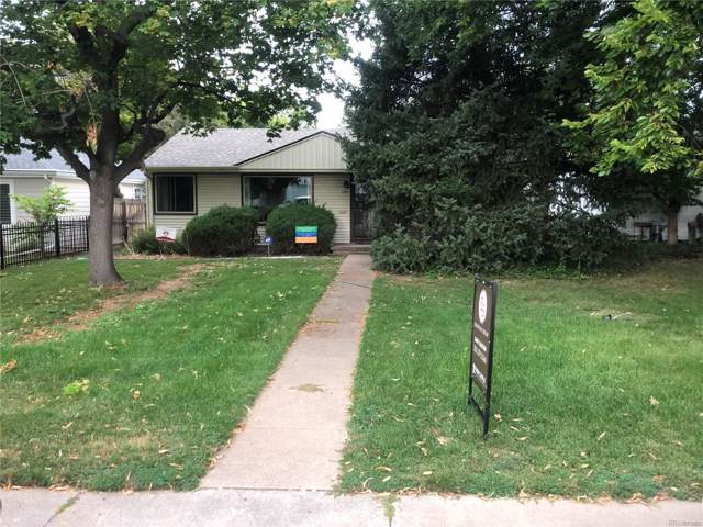 2369 S Madison Street, Denver, CO 80210 (MLS #8474597) :: The Space Agency - Northern Colorado Team