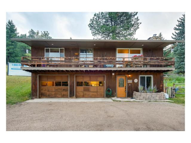 8221 S Blue Creek Road, Evergreen, CO 80439 (MLS #8476222) :: 8z Real Estate
