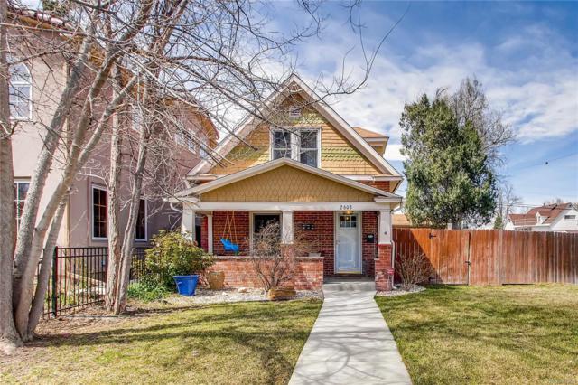 2603 S Pennsylvania Street, Denver, CO 80210 (#8477147) :: 5281 Exclusive Homes Realty