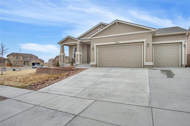 7651 Renegade Hill Drive, Colorado Springs, CO 80923 (#8477764) :: The Peak Properties Group