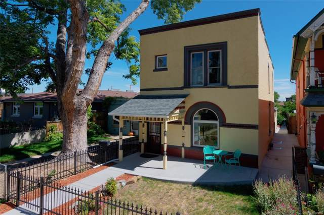 3522 Shoshone Street, Denver, CO 80211 (#8478546) :: Real Estate Professionals