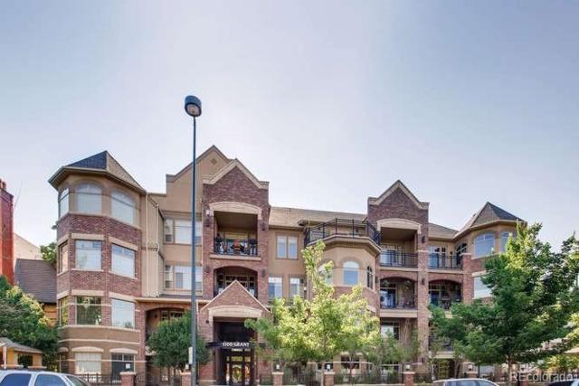 1100 N Grant Street #301, Denver, CO 80203 (#8479401) :: Bring Home Denver