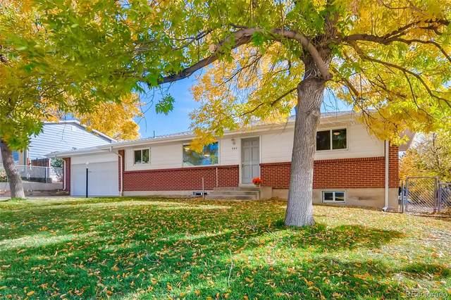 960 S Briarwood Drive, Lakewood, CO 80226 (MLS #8479903) :: 8z Real Estate