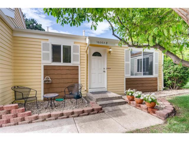 16065 E Rice Place B, Aurora, CO 80015 (MLS #8481850) :: 8z Real Estate