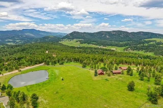 23391 Pleasant Park Road, Conifer, CO 80433 (#8482500) :: Finch & Gable Real Estate Co.