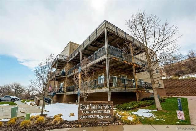 6000 W Floyd Avenue #300, Denver, CO 80227 (#8483588) :: The Artisan Group at Keller Williams Premier Realty