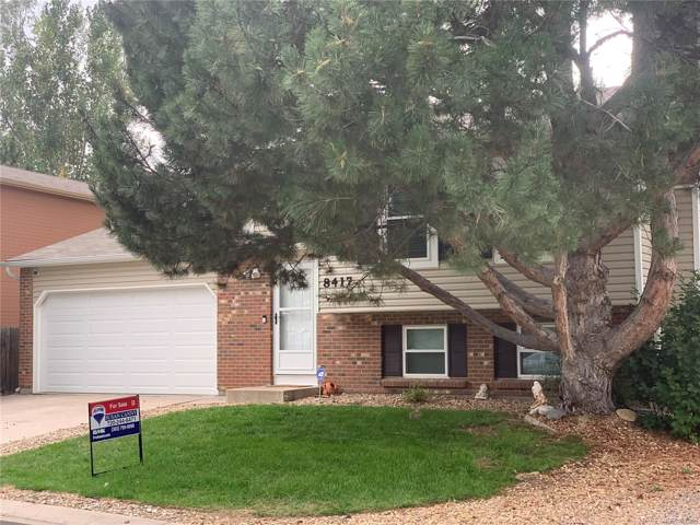 8417 Rabbitbrush Way, Parker, CO 80134 (#8485086) :: The Galo Garrido Group