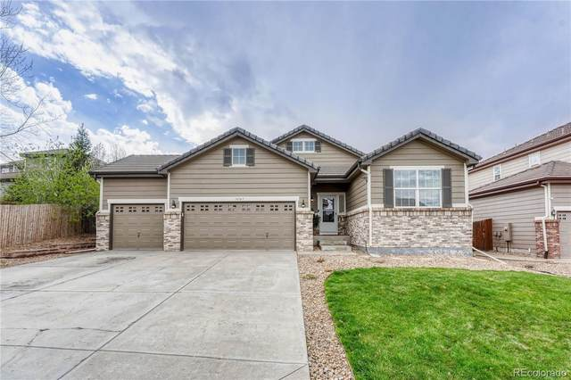 16787 E Black Horn Drive, Parker, CO 80134 (#8487276) :: The Scott Futa Home Team