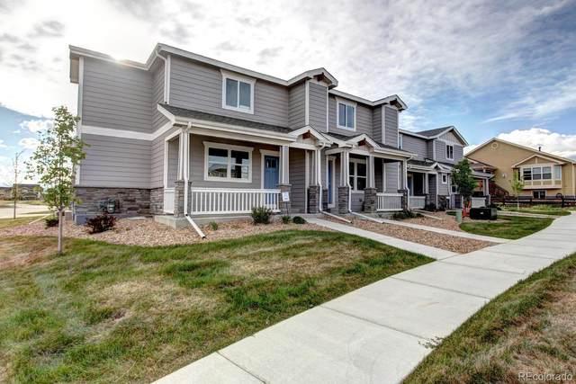 6116 Summit Peak Court #108, Frederick, CO 80516 (#8489640) :: Real Estate Professionals