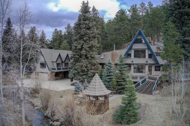 25074 N Turkey Creek Road, Evergreen, CO 80439 (#8494346) :: Bring Home Denver with Keller Williams Downtown Realty LLC
