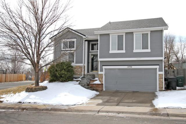 1494 E 96th Drive, Thornton, CO 80229 (#8495123) :: The Heyl Group at Keller Williams