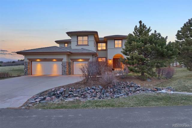 6201 Oxford Peak Lane, Castle Rock, CO 80108 (#8496187) :: The Griffith Home Team