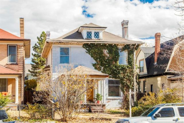 1050 Clarkson Street, Denver, CO 80218 (#8498006) :: Sellstate Realty Pros