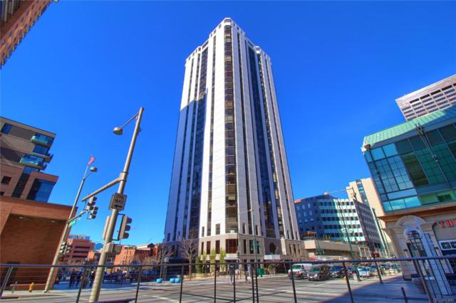 1625 Larimer Street #2207, Denver, CO 80202 (#8499952) :: Bring Home Denver