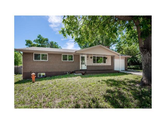 670 Arbutus Street, Lakewood, CO 80401 (#8500153) :: The Peak Properties Group