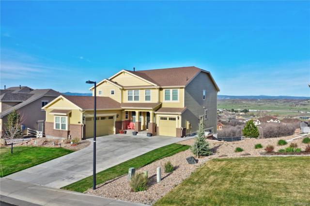 3743 Eveningglow Way, Castle Rock, CO 80104 (#8501719) :: House Hunters Colorado