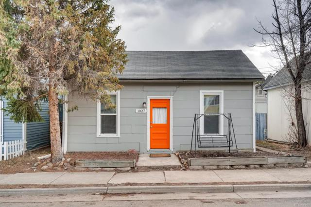 1027 Miner Street, Idaho Springs, CO 80452 (#8504570) :: Bring Home Denver with Keller Williams Downtown Realty LLC