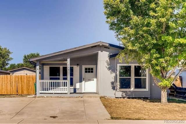 119 Wenatchee Street, Lochbuie, CO 80603 (MLS #8504876) :: 8z Real Estate