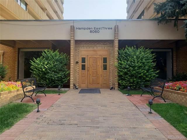8060 E Girard Avenue #309, Denver, CO 80231 (#8506612) :: The Griffith Home Team