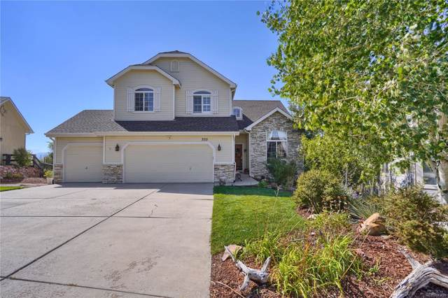 333 Green Rock Place, Monument, CO 80132 (MLS #8508120) :: 8z Real Estate