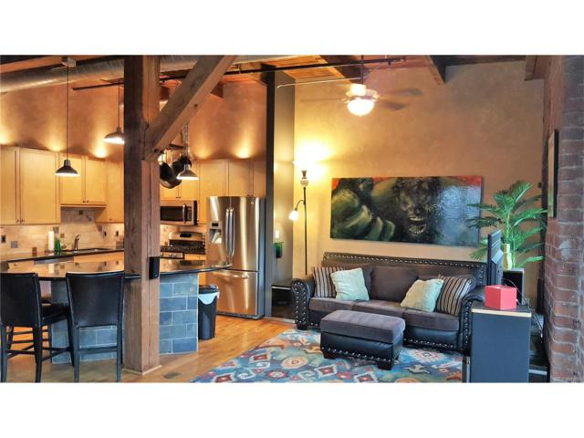 2960 Inca Street #410, Denver, CO 80202 (#8511610) :: The Peak Properties Group