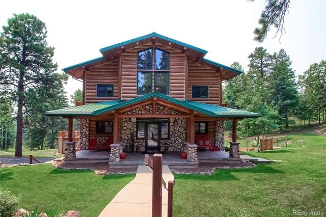 5853 High Drive, Evergreen, CO 80439 (#8513605) :: Finch & Gable Real Estate Co.