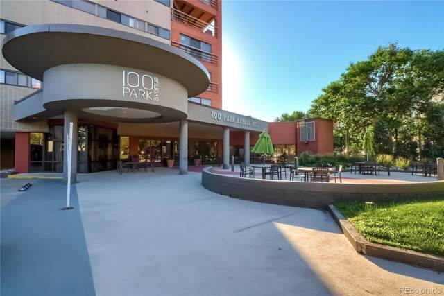 100 Park Avenue W #1103, Denver, CO 80205 (MLS #8513967) :: 8z Real Estate