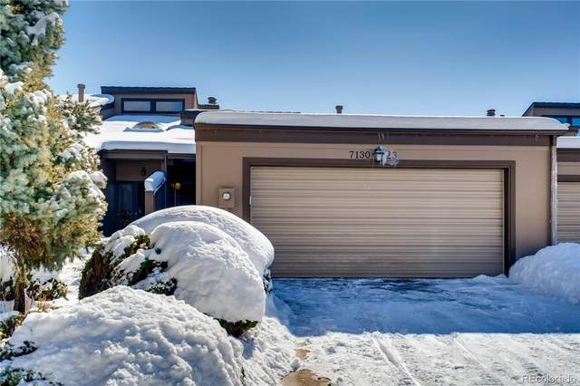 7130 W Stetson Place #23, Littleton, CO 80123 (#8515390) :: The DeGrood Team