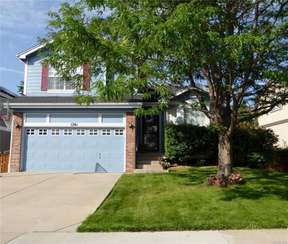 1261 Riddlewood Road, Highlands Ranch, CO 80129 (MLS #8519173) :: The Biller Ringenberg Group