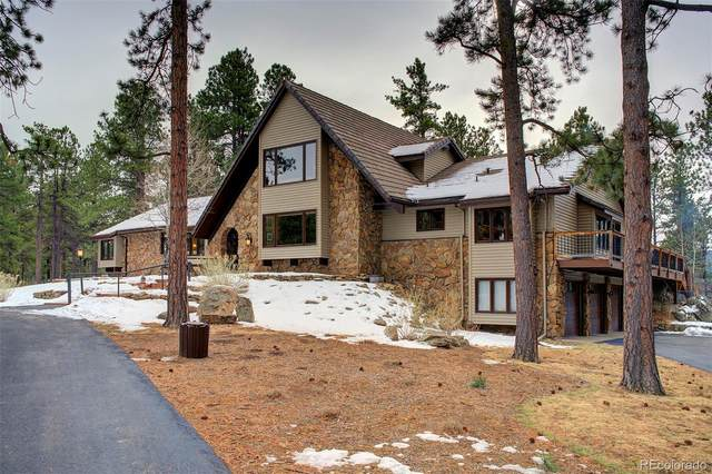 204 Greystone Road, Evergreen, CO 80439 (#8519485) :: The Colorado Foothills Team | Berkshire Hathaway Elevated Living Real Estate
