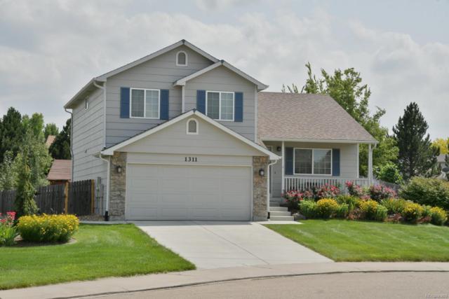1311 Cedarwood Drive, Longmont, CO 80504 (#8519503) :: Colorado Home Finder Realty