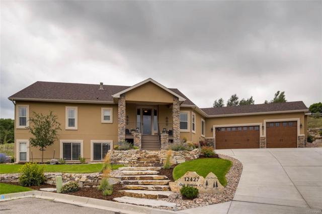 12427 Oak Hollow Court, Colorado Springs, CO 80921 (MLS #8520109) :: 8z Real Estate