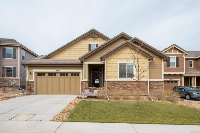 13831 Ashgrove Circle, Parker, CO 80134 (#8520262) :: The HomeSmiths Team - Keller Williams