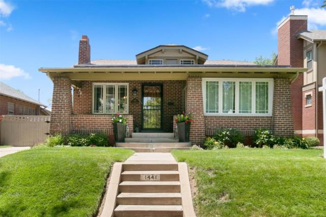 1441 S Humboldt Street, Denver, CO 80210 (#8521534) :: The Galo Garrido Group