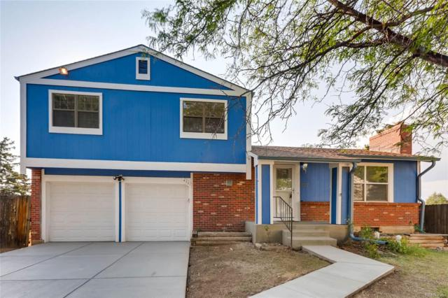 4301 S Evanston Court, Aurora, CO 80015 (#8522506) :: The City and Mountains Group