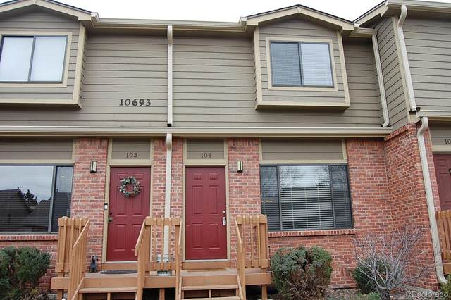 10693 W 63rd Drive #104, Arvada, CO 80004 (MLS #8522508) :: Kittle Real Estate