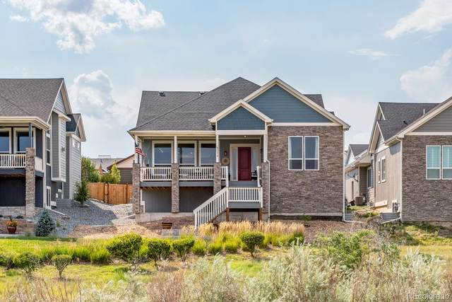 4314 Fell Mist Way, Castle Rock, CO 80109 (#8522991) :: Keller Williams Action Realty LLC