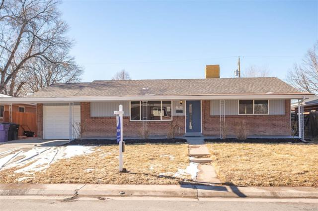 1957 S Quitman Street, Denver, CO 80219 (#8526059) :: The Griffith Home Team