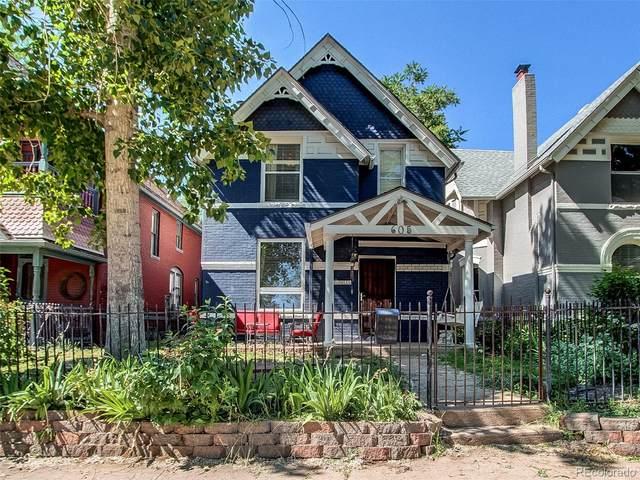 605 E Bayaud Avenue, Denver, CO 80209 (MLS #8535914) :: Find Colorado