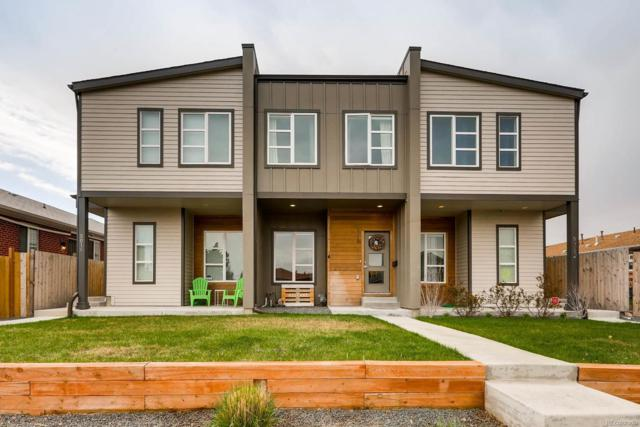 5014 E Thrill Place, Denver, CO 80207 (#8537948) :: The Peak Properties Group
