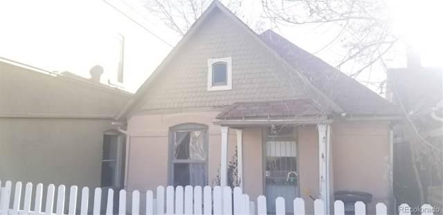 614 W 4th Avenue, Denver, CO 80223 (MLS #8538079) :: Colorado Real Estate : The Space Agency